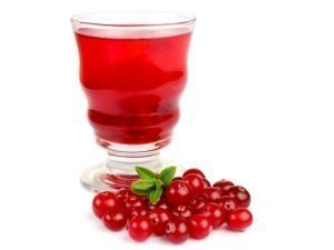 picture of cranberry juice