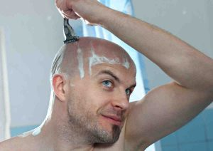 picture of shaving guy