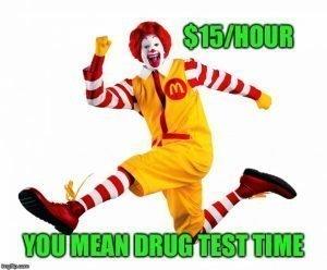 image of mcdonalds drug test