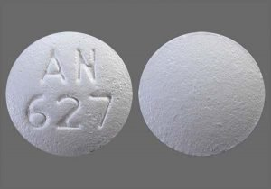 picture of an 627 pill