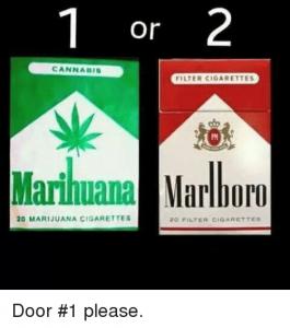 image of marijuana cigs